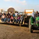 Hay rides, Tractors, pumpkin picking